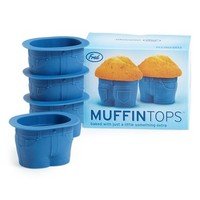 Fred & Friends 'Muffin Tops' Baking Cups (Set of 4)