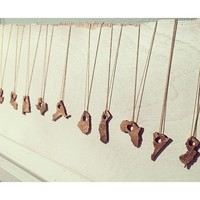 Bronze State Necklaces