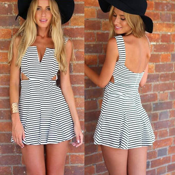 New Fashion Summer Sexy Women Mini Dress Casual Dress for Party and Date = 4725379396