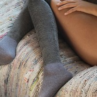 Free People Womens Southern Slope Sock - Grey, One Size