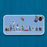 Pixar all character : Case For Iphone 4/4s ,5 /Samsung S2,3,4