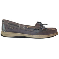 Sperry Top-Sider Angelfish - Micro Dot Graphite Boat Shoe