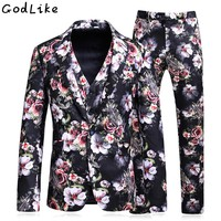 2018 Stage Clothing Slim Fit Groom Tuxedos Mens Suits Terno Masculino Men Wedding Suits For Male Prom Tuxedo (Jacket+Vest+Pant)