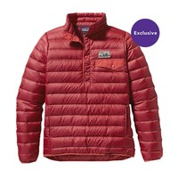 Patagonia Women's Down Snap-T® Pullover | Oxblood Red