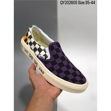Vans Slip-On Pro cheap fashion Mens and womens sports shoes