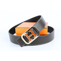 Hermes belt men's and women's casual casual style H letter fashion belt170