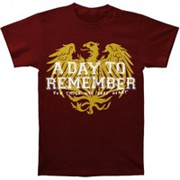 A Day To Remember Friends Maroon T-shirt - A Day To Remember - A - Artists/Groups - Rockabilia