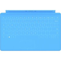 Microsoft - Touch Cover for Surface - Cyan Blue