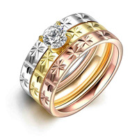 Men's Party Jewelry rings for men A rhinestone anel de ouro jewellery167