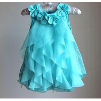 Birthday Party Dresses Baby Girls Summer Dress Jumpsuits Toddler Infant Romper Dress Baby Clothes Baby Clothing
