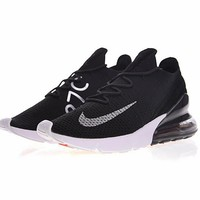 "Nike Air 270 Flyknit Running Shoes ""Black&White""AH6803-001"