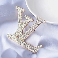 Louis Vuitton LV Women Fashion Diamonds Brooch Jewelry