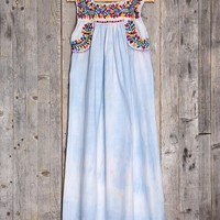 Vintage El Mar Embroidered Dress - Urban Outfitters