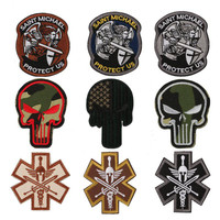 Embroidered Patch thread Embroidered Patch Military tactics Patch Iron-On or Sew to Garment DIY