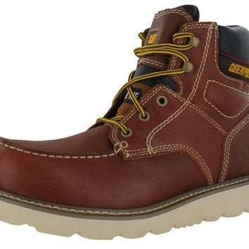 Caterpillar CAT Men's Steel Toe Carpenter Work Boots 2E Wide Width P90261