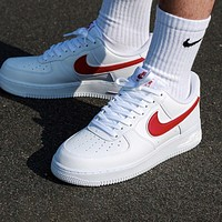 Nike Air Force 1 Fashionable Women Men Casual Sport Running Shoes Sneakers