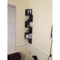 Wade Logan Ridgeway Corner Wall Shelf
