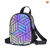 Adidas clover casual backpack female bag diamond mini MINI backpack Colorful