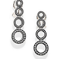 Lagos - Sterling Silver Graduated Circle Earrings - Saks Fifth Avenue Mobile