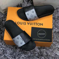 shosouvenir  LOUIS VUITTON: Casual Fashion Women Man Sandal Slipper Shoes