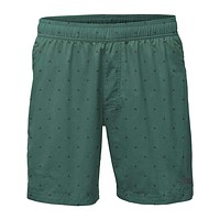 """Men's 7"""" Class V Pull-On Trunks in Smoke Pine Tent Print by The North Face"""