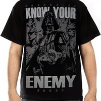 Star Wars T-Shirt - Know Your Enemy