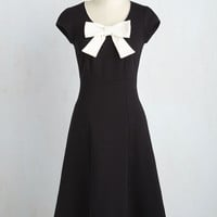 Be There With Bows On Dress | Mod Retro Vintage Dresses | ModCloth.com
