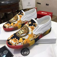 DCCK Versace Women Men Fashion Sneakers Sport Shoes