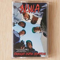N.W.A - Straight Outta Compton Cassette Tape