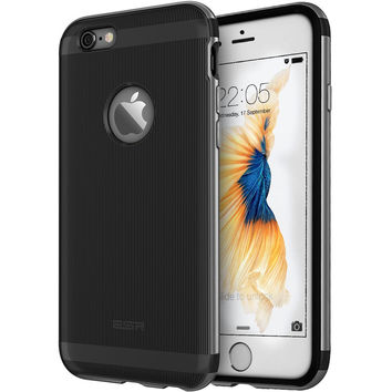 ESR 2 in 1 Bumper Case with Clear Soft TPU Cover + Aluminum Alloy Frame for iPhone 6s/6