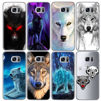 Animal Wolf Tiger Patterned Soft TPU Cover Phone Case for Samsung Galaxy J5 J3 A5 2016 Grand Prime G530 S5 S6 S7 Edge Note 3 4 5