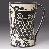 Owl Mug  by Jennifer  Falter: Ceramic Mug | Artful Home