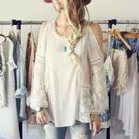 Cairo Lace Top