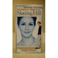 Universal Notting Hill VHS Movie  * Plastic * -- Used