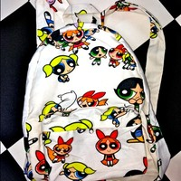 SWEET LORD O'MIGHTY! POWERPUFF GIRLS BACKPACK
