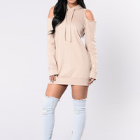 Lost Without You Tunic - Taupe